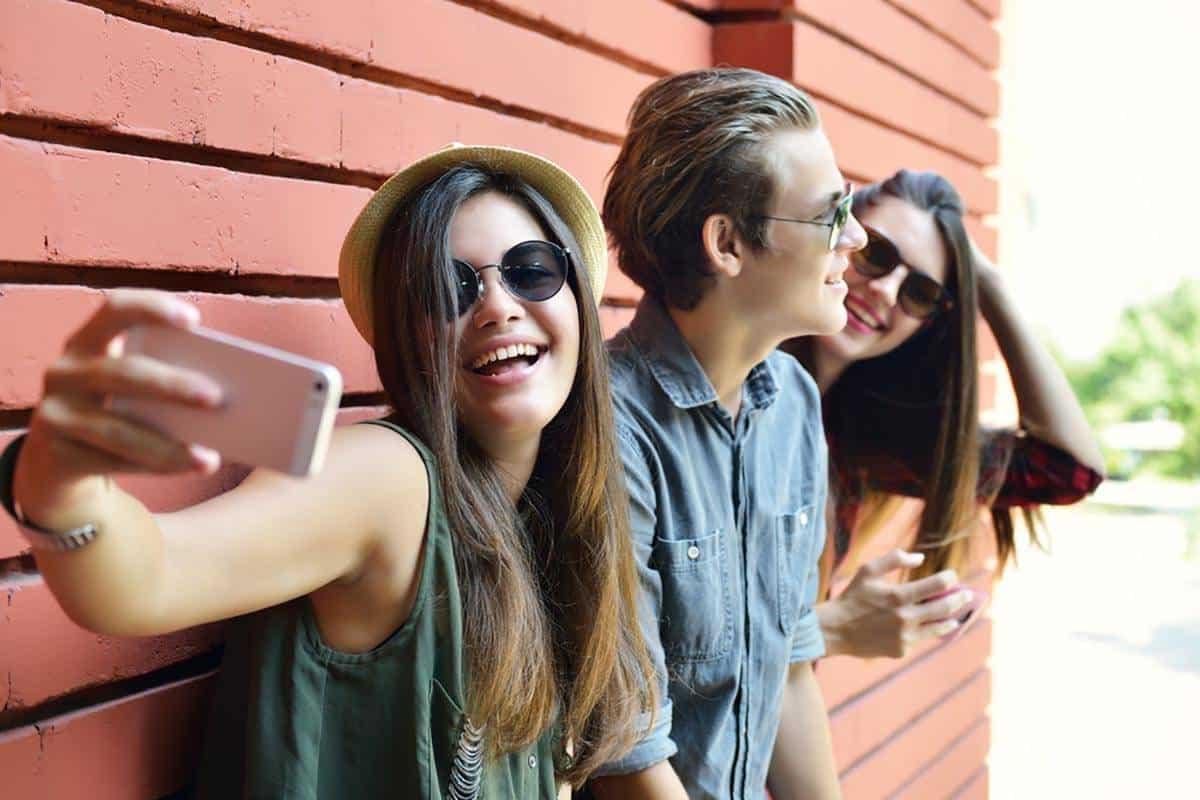 Sosiale medier tenåringer unge Norge norsk
