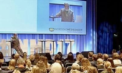 Mediehusene «trykker nesten penger» og feirer seg selv i flere dager under Nordiske mediedager. Men insisterer samtidig at mediekrisen kun er i startfasen.