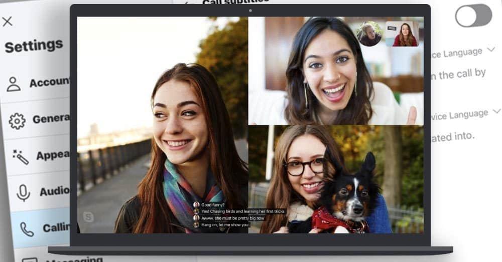 Automatisk teksting Skype Helt Digital