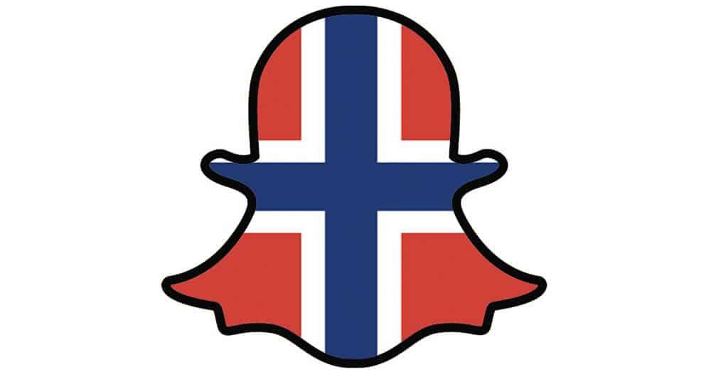 snapchat norge brukere flagg helt digital