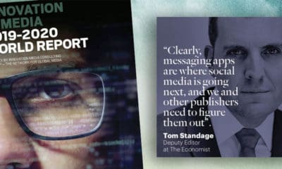 Det slås fast i rapporten 'Innovation In Media 2019-2020 World Report' fra The Network for Global Media (FIPP).