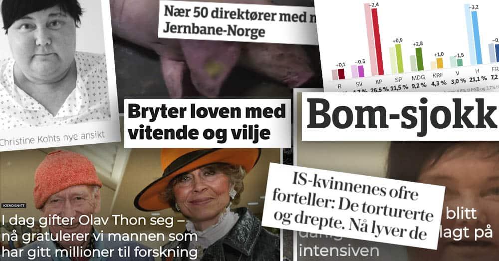 En ni år gammel studie og en kreftsyk kjendis skapte mest engasjement på sosiale medier i Norge i juni.