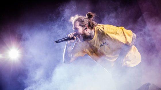 Post Malone var i 2018 en av artistene i verden med høyest omsetning. Her under Rock Werchter Festival i Werchter i Belgia i fjor.