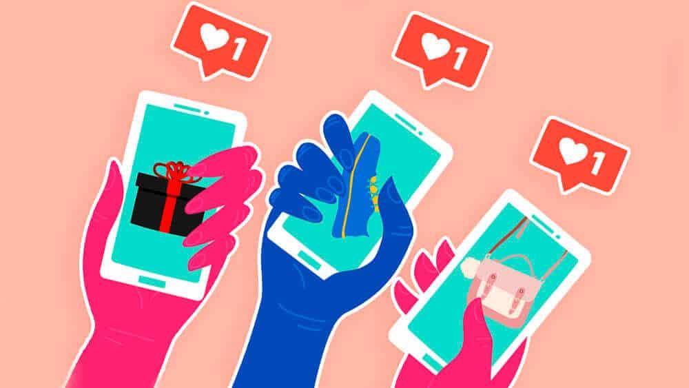 Her er de beste svarene etter en analyse av 34.000 bedriftskontoer på Instagram. Illustrasjon: Shutterstock/Helt Digital