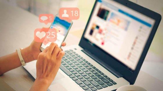 67 prosent sier de har kjøpt noe etter å ha sett annonse for det på sosiale medier. Illustrasjon: Shutterstock