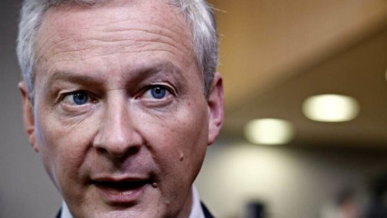Frankrikes finansminister Bruno Le Maire vil blokkere en lansering av Facebooks digitale valuta i EU. Foto: Shutterstock