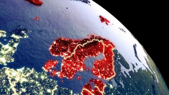 Parabolantennene er i ferd med å forsvinne i alle de nordiske landene – unntatt Norge. Illustrasjon: Shutterstock