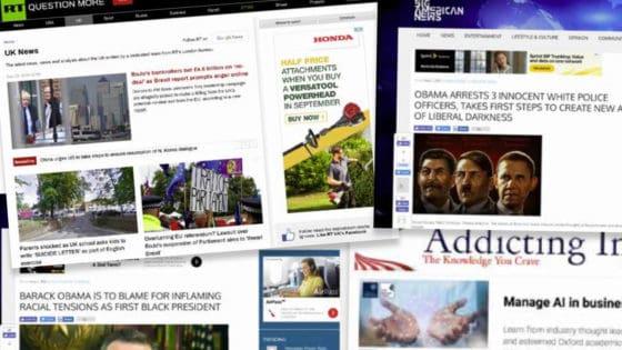 Målt i penger står Google for 37 prosent av annonseinntektene til nettsider med falske nyheter og desinformasjon. Rett bak følger ad tech-selskapene AppNexus (25%) og Criteo (23%).