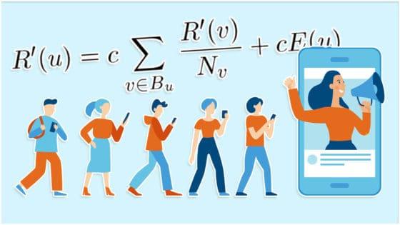 Forskerne utviklet en algoritme og testet den opp mot 300.000 poster og 10 millioner reaksjoner på Facebook. Illustrasjon: Helt Digital/Venimo/Shutterstock