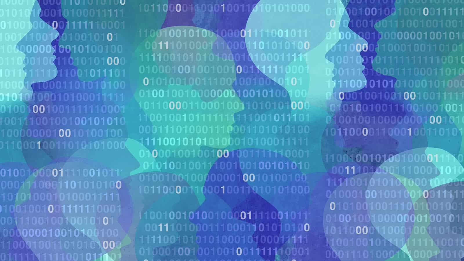 75 prosent mener det bør gjøres vanskeligere å lagre persondata og opplysninger som kan brukes til å lage digitale profiler. Illustrasjon: Shutterstock