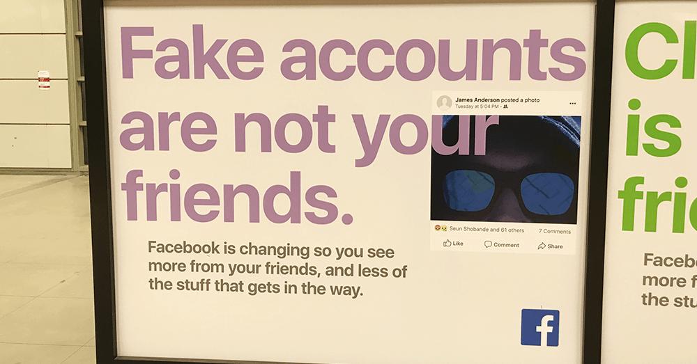 Facebook gjennomførte i fjor omfattende kampanjer for å øke folks bevissthet om spredningen av falske nyheter og falske kontoer. Men Facebook flommer over av falske nyheter bare ett år før presidentvalget i USA. Foto: Jeff Bukowski