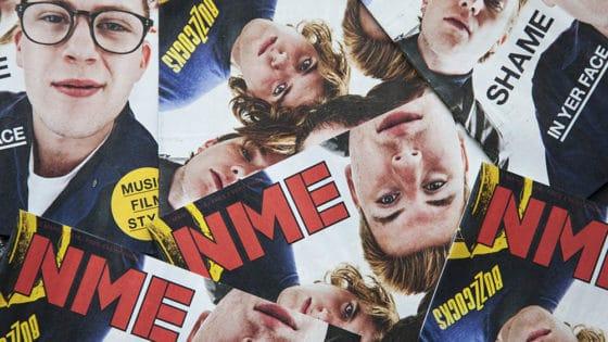 Det britiske magasinet New Musical Express (NME) publiserte sin siste papirutgave i mars 2018. Men papirleserne fulgte ikke med til digitale flater. Foto: Ink Drop/Alamy Stock Photo