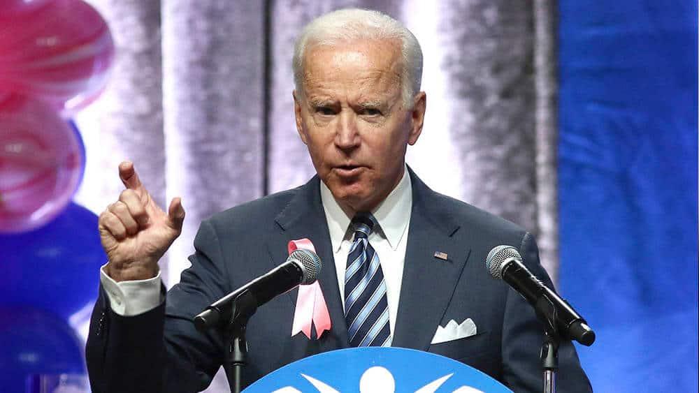Tidligere visepresident, Joe Biden, ønsker å bli demokratenes presidentkandidat i 2020. Her fra en tale i november. Foto: Shutterstock