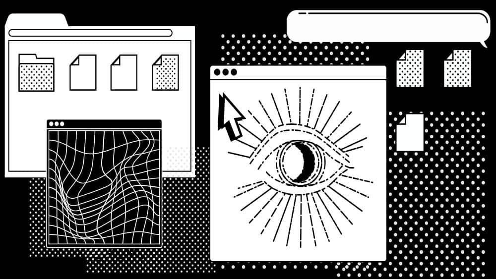 Nettet fylles systematisk med innhold som støtter opp om desinformasjon og konspirasjoner. Illustrasjon: Shutterstock