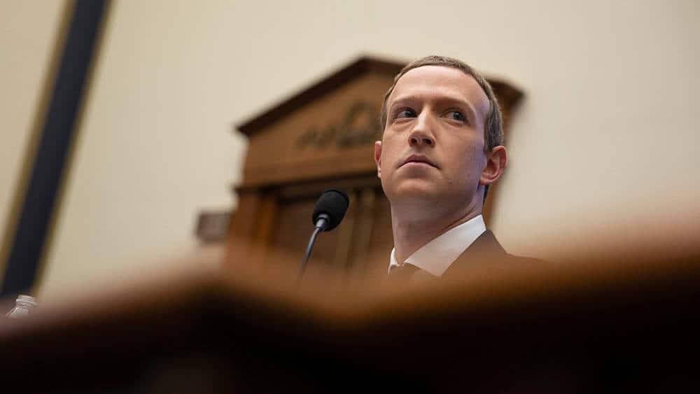 Facebook-sjef Mark Zuckerberg. Foto: Aaron-Schwartz/Shutterstock