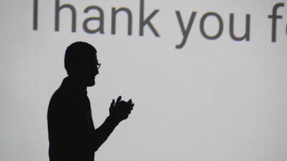 Alphabet- og Google-sjef, Sundar Pichai, har fjernet to sentrale nøkkeltall fra resultatene til Google. Foto: Maurizio Pesce/Flickr (fullstendig kreditering nederst i artikkelen)