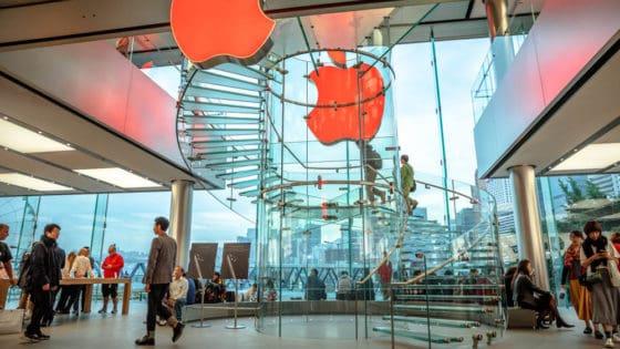 Kina er viktig for Apple – så viktig at de ikke vil snakke om det. Foto: Benny Marty/Shutterstock